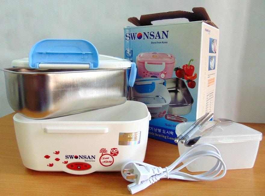 Hộp hâm nóng cơm swl 1002 SA chính hãng Swonsan Hàn Quốc