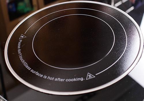 Bề mặt kính Bếp hồng ngoại đôi saniyo cảm ứng