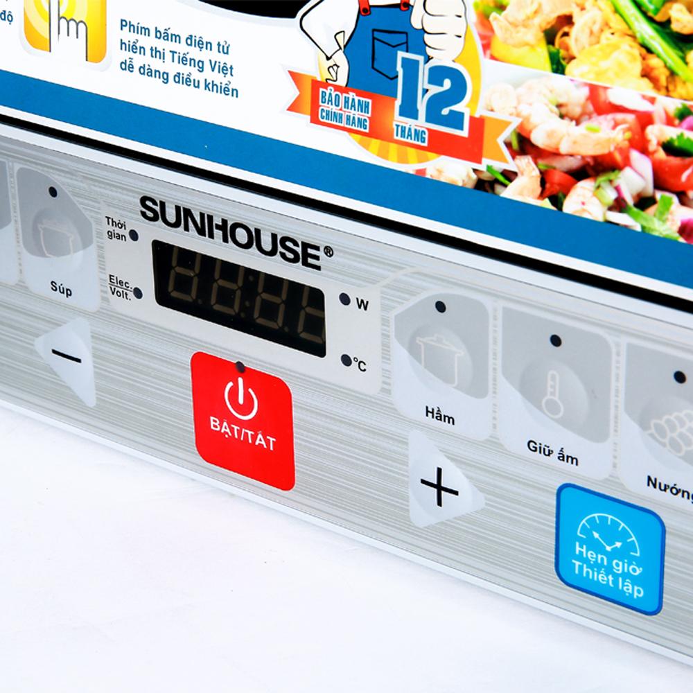 Bếp từ Sunhouse SHD6152 bộ điều khiển