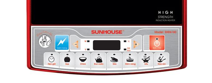 Bộ điều khiển Bếp từ nhập khẩu sunhouse shd6180