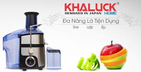 Máy ép trái cây khaluck kl-3169 đa năng và tiện dụng cho mọi nhà