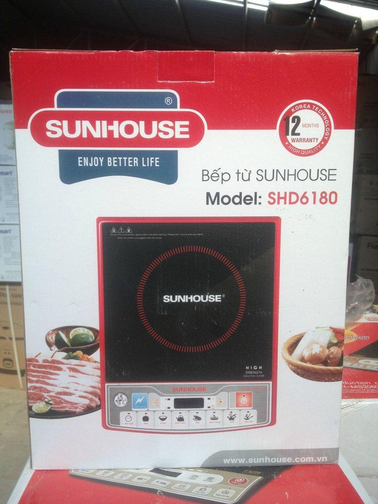 Vỏ hộp bếp từ nhập khẩu sunhouse shd6180