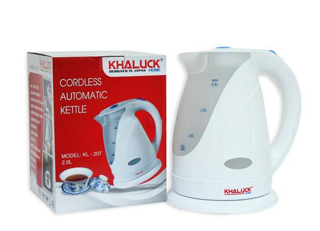 Ấm điện siêu tốc khaluck kl-207 thiết bị cần thiết cho gia đình bạn