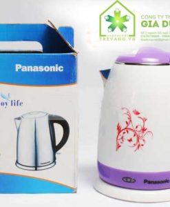 Kiểu dáng đẹp Ấm đun nước siêu tốc Panasonic nhựa 1,8L