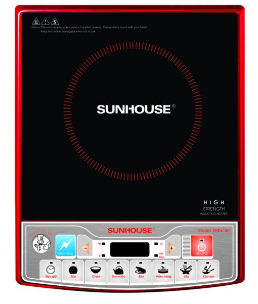 Bếp từ nhập khẩu sunhouse shd6180