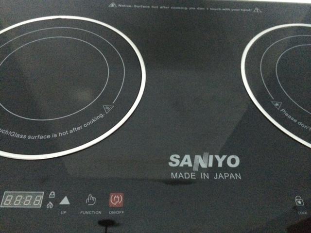 Bếp hồng ngoại đôi saniyo cảm ứng