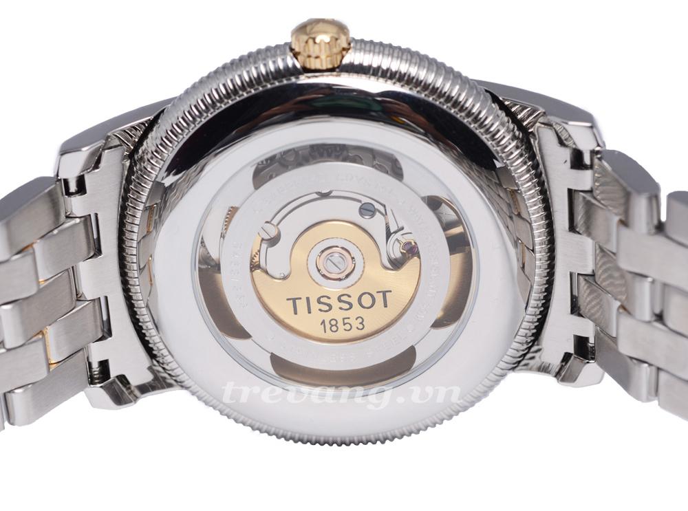 Mặt lưng cảm nhận chuyển động đồng hồ nam Tissot T97.1.483.31