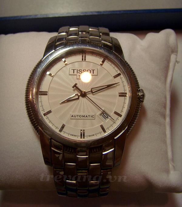 Đồng hồ nam Tissot T97.1.483.31 chính hãng tại siêu thị đồng hồ Tre Vàng.