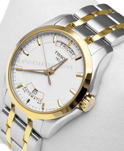 Đồng hồ Tissot T035.407.22.011.00 Quartz T-Trend Couturier kính Sapphire
