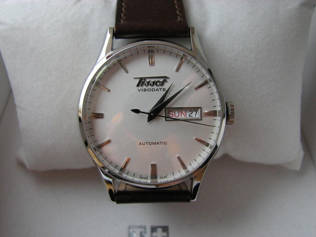 Đồng hồ Tissot nam T019.430.16.031.01 Automatic Visodate sapphia