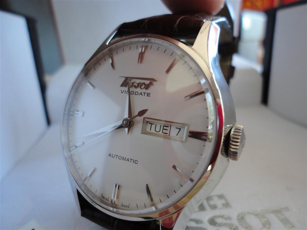 Đồng hồ cơ Tissot nam T019.430.16.031.01 Visodate