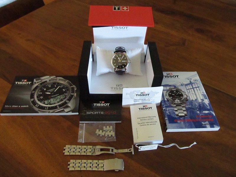 Đồng hồ cơ Tissot 1853 T014.430.16.057.00 nguyên hộp