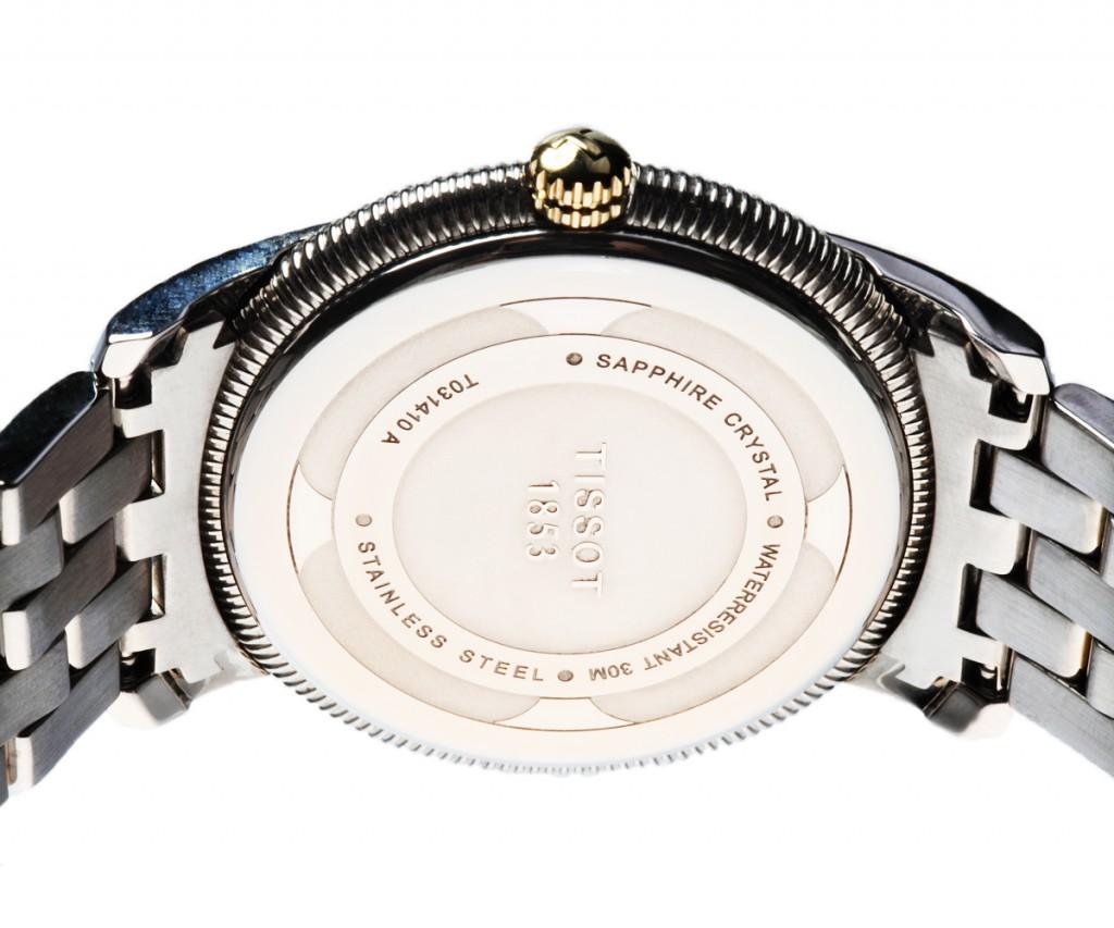 Đồng hồ đôi Tissot 1853 T031.410.22.033.00 và T031.210.22.033.00 mặt lưng