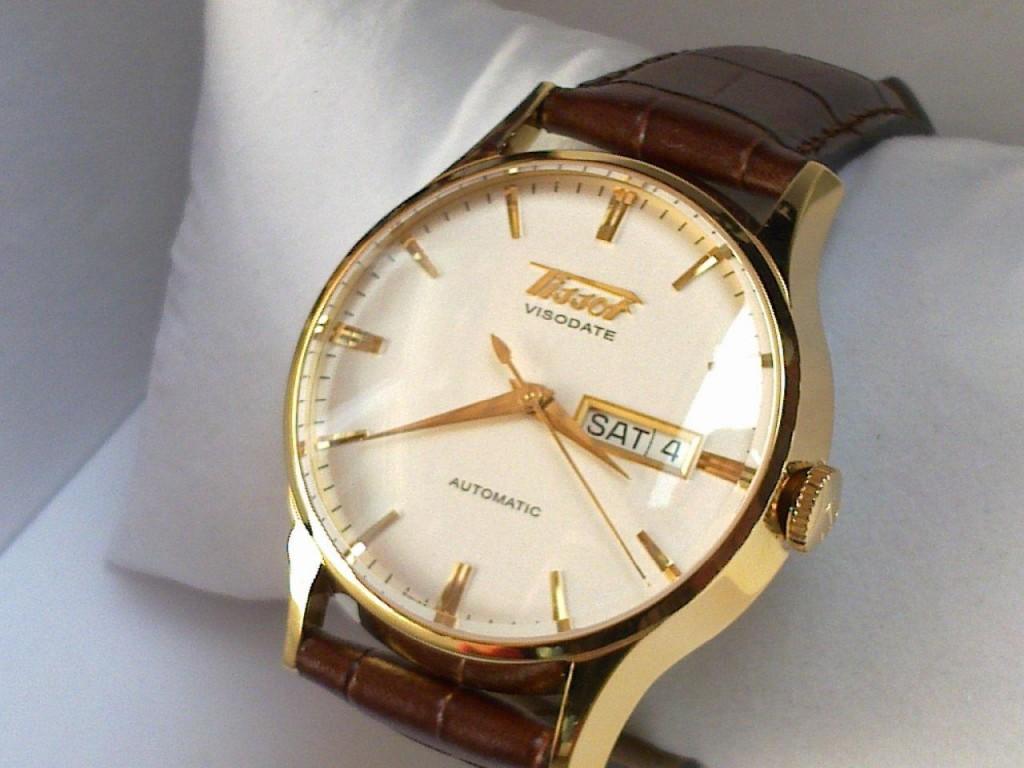 Đồng hồ nam Automatic Tissot T019.430.36.031.00 Visodate Heritage sapphia fullbox