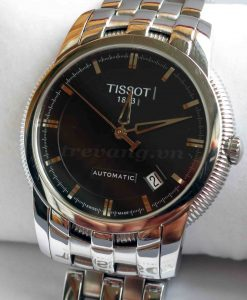 Đồng hồ nam Tissot cơ T97.1.483.51 mặt sóng đen