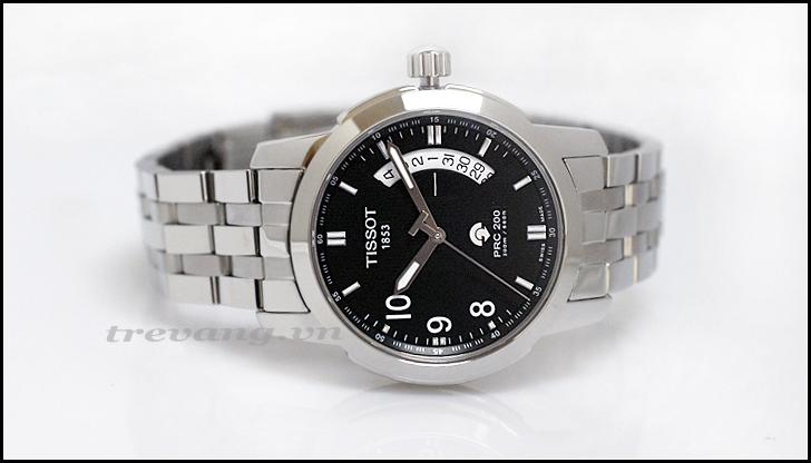 Đồng hồ Tissot nam T014.421.11.057.00 ảnh chụp nằm ngang.