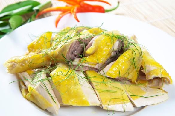 Món gà luộc bổ dưỡng với bếp hồng ngoại sunhouse SHD 6006