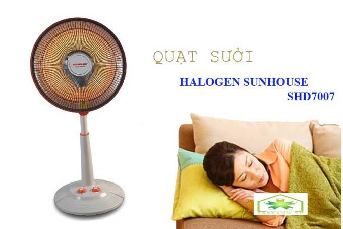Quạt sưởi Sunhouse SHD7007 mùa đông ấm áp