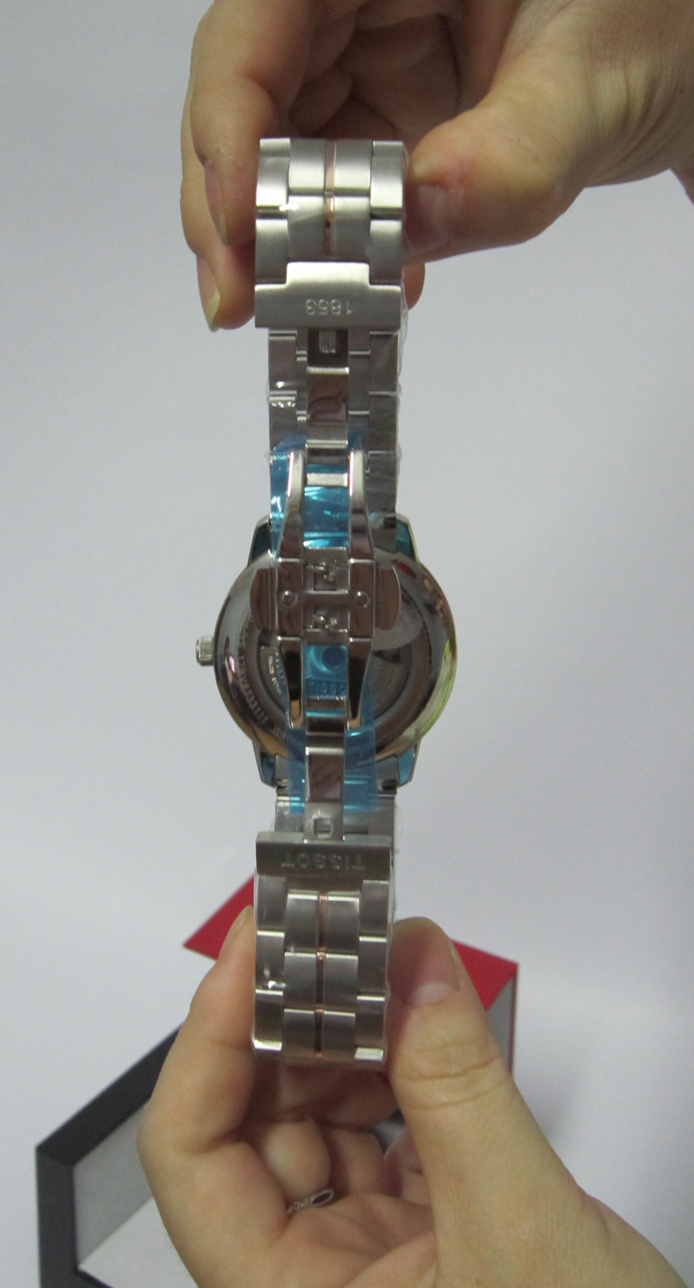 Đồng hồ Tissot nam 1853 T086.207.22.261.00 chốt gập 2 lần nhấn