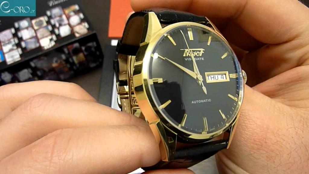 Đồng hồ Tissot automatic T19.430.16.051.01 chụp cận cảnh