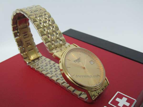 Đồng hồ nam Tissot 1853 T52.5.481.21 góc chụp chéo