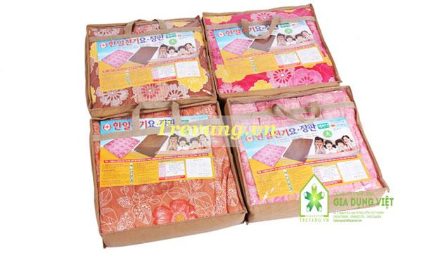 Đa màu sắc Chăn điện Hàn Quốc Hanil vải