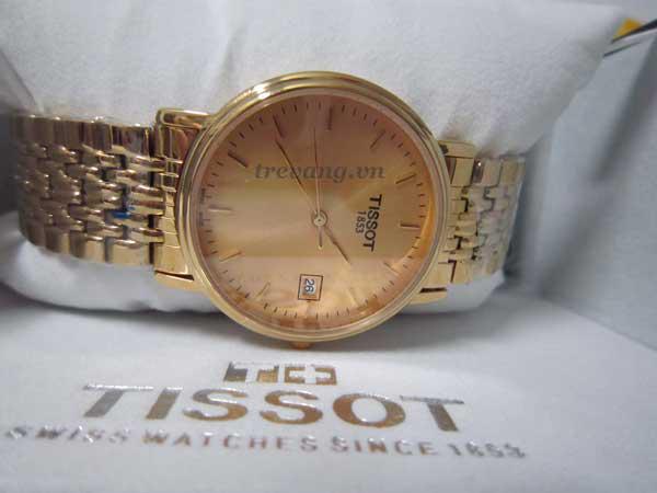 Đồng hồ nam Tissot 1853 T52.5.481.21 mặt kính Sapphire chống xước