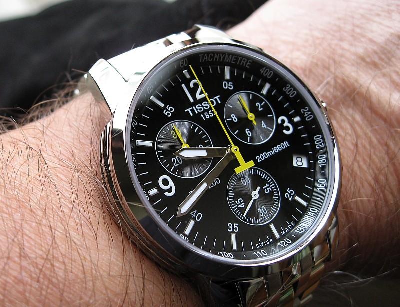 Đồng hồ Tissot T055.417.11.057.00 kim quay phủ dạ quang