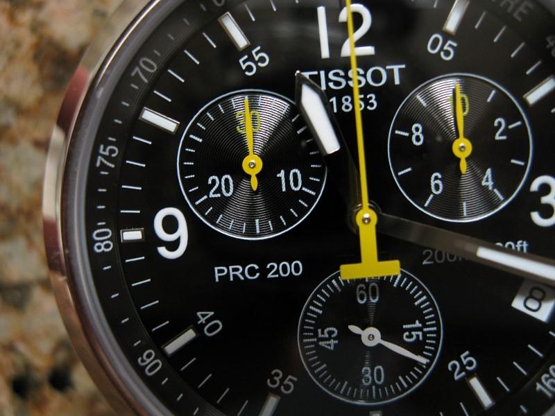 Đồng hồ Tissot 1853 T055.417.11.057.00 vạch số hiển thị giờ