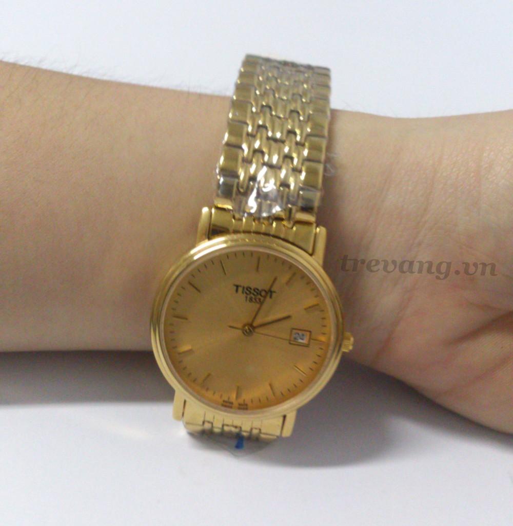 Đồng hồ nam Tissot 1853 T52.5.481.21 trên tay mẫu ảnh đẹp
