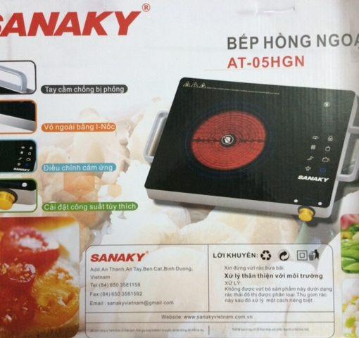 Vỏ hộp bếp hồng ngoại Sanaky AT-05HGN