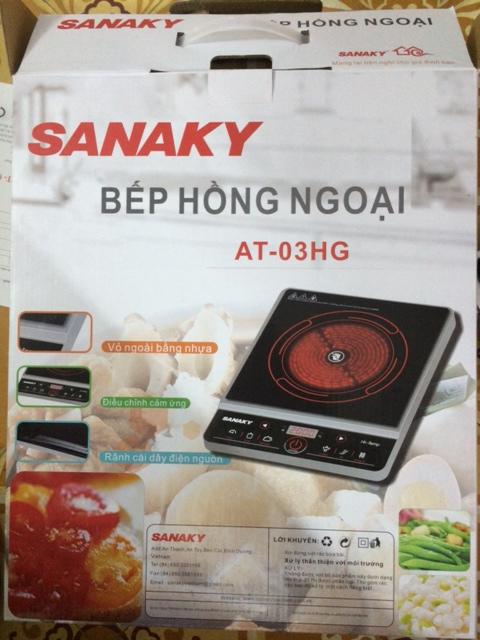 Vỏ hộp Bếp hồng ngoại Sanaky AT-03HG