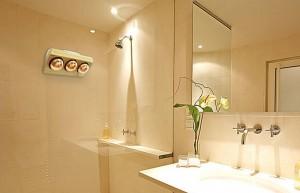 Đèn sưởi nhà tắm BRAUN BU-03G làm ấm nhanh
