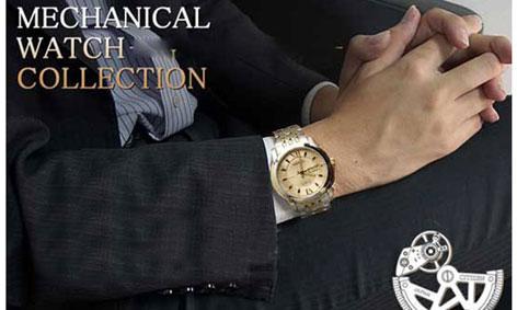 Đồng hồ Citizen nam NH8338 Balck Gold trên tay
