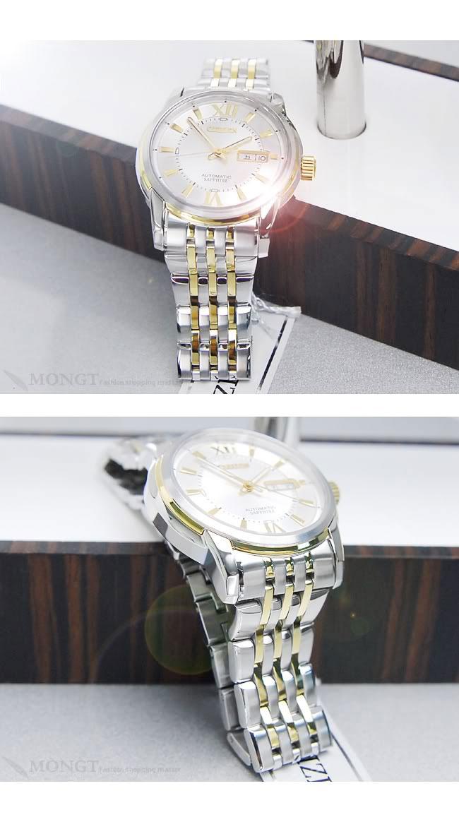 Đồng hồ Citizen nam NH8338 Balck Gold