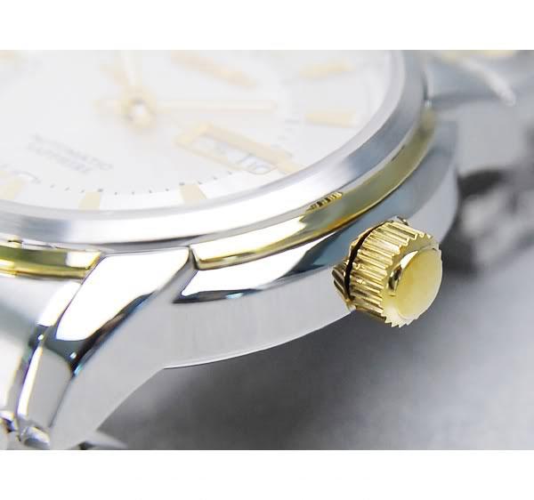 Đồng hồ Citizen nam NH8338 Balck Gold chốt