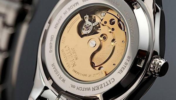 Đồng hồ Citizen nam NP4020-51A mặt lưng