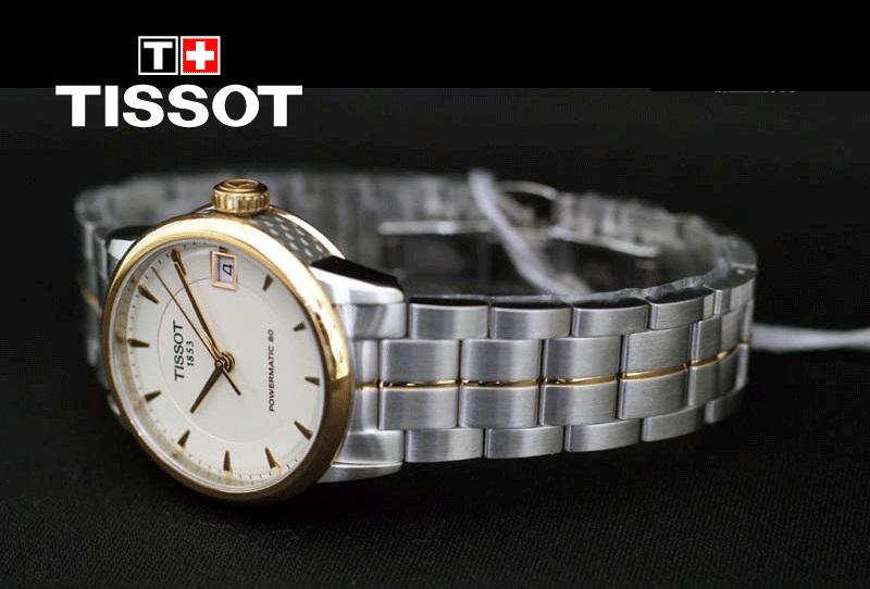 Đồng hồ Tissot 1853 T086.207.22.261 đeo trên tay thoải mái