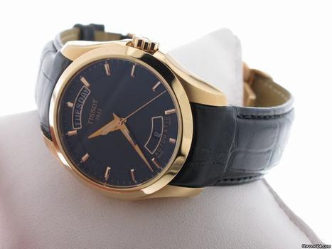 Đồng hồ cơ nam Tissot 1853 T035.407.36.051.00 vàng đẳng cấp.
