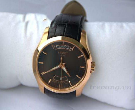 Đồng hồ cơ nam Tissot 1853 T035.407.36.051.00 mạ vàng