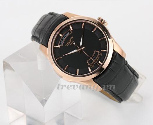 Đồng hồ nam Tissot 1853 T035.407.36.051.00 ảnh chụp xéo.