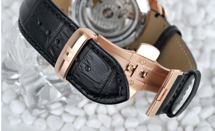 Đồng hồ cơ nam Tissot 1853 T035.407.36.051.00 chốt 2 lần nhấn 1 lần gập
