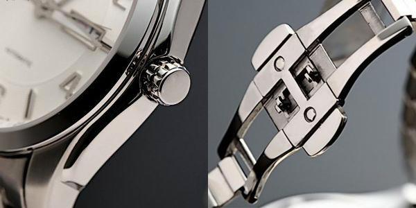 Đồng hồ Citizen nam NP4020-51A  chốt và núm điều chỉnh