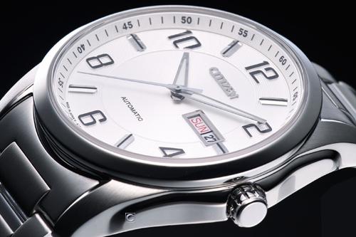 Đồng hồ Citizen nam NP4020-51A  nghiêng