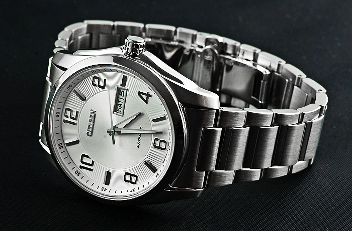 Đồng hồ Citizen nam NP4020-51A mặt trắng