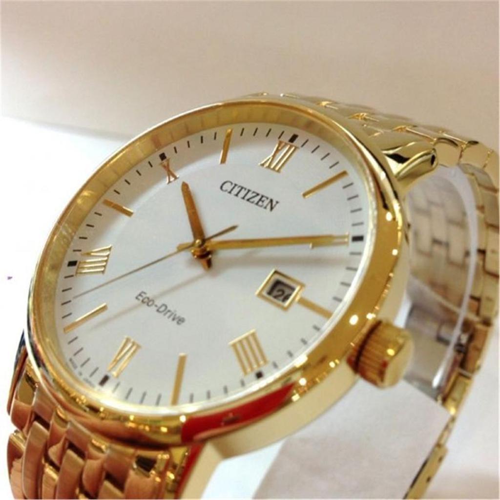 Đồng hồ Citizen Eco-Drive BM6772-56A gold