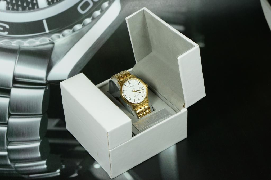 Đồng hồ Citizen BM6772-56A gold trọn ful box