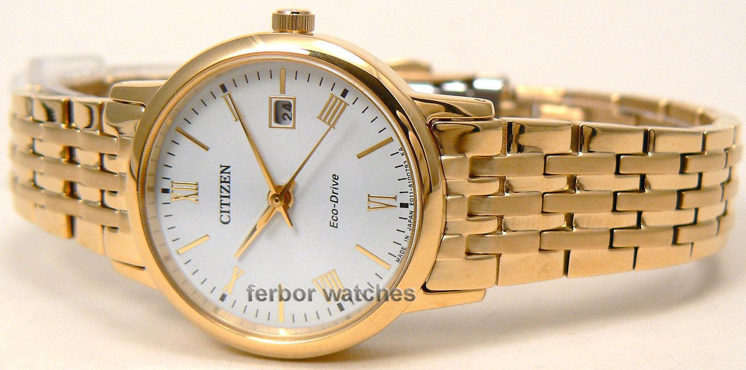 Đồng hồ Citizen BM6772-56A gold mạ vàng