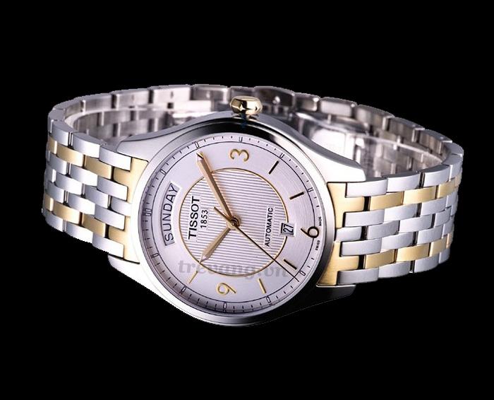 Đồng hồ Tissot 1853 T038.430.22.037.00 T-one Automatic chụp ngang.