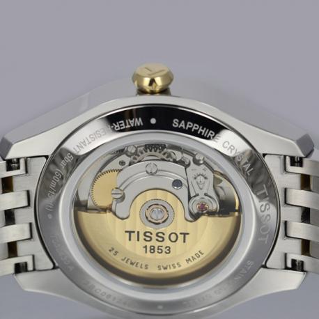 Đồng hồ Tissot 1853 T038.430.22.037.00 T-one Automatic mặt lưng.